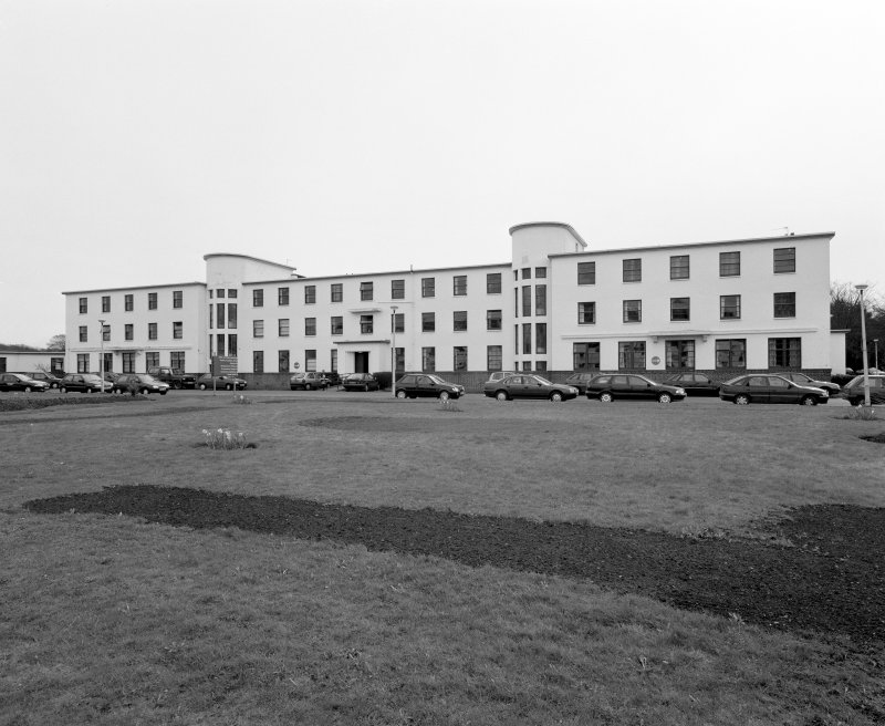 Administrative Block. View from NNW