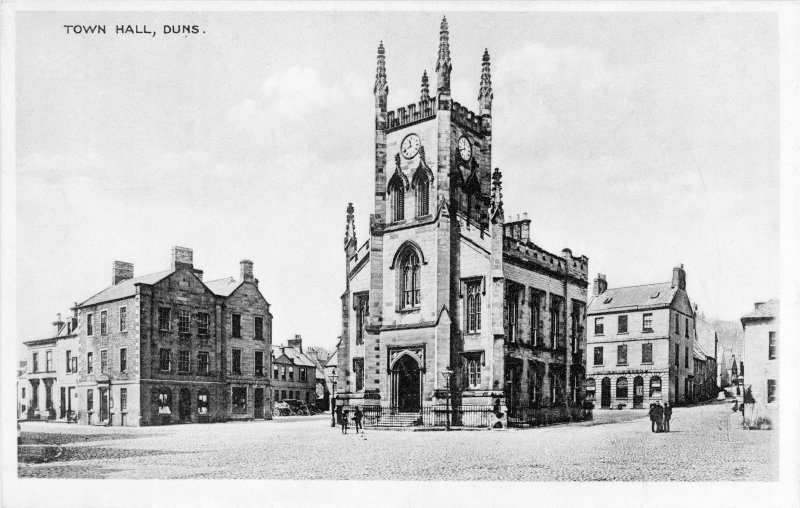 Historic photograph showing view from South East.