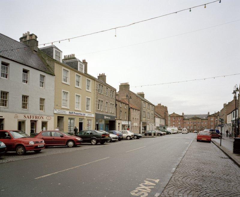 View showing setting in High Street from South