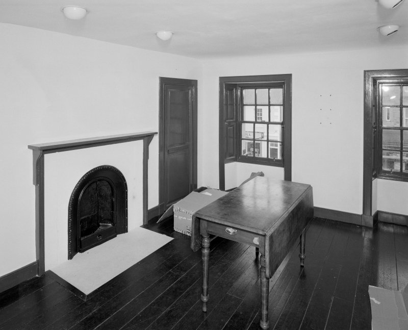 Interior, view of 2cnd fl North East room from West