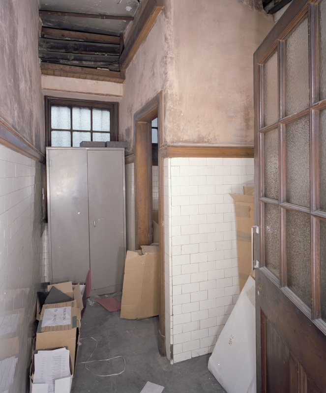 Interior. Washroom.