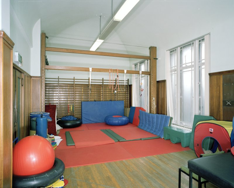 Interior. 1st floor. Gymnasium