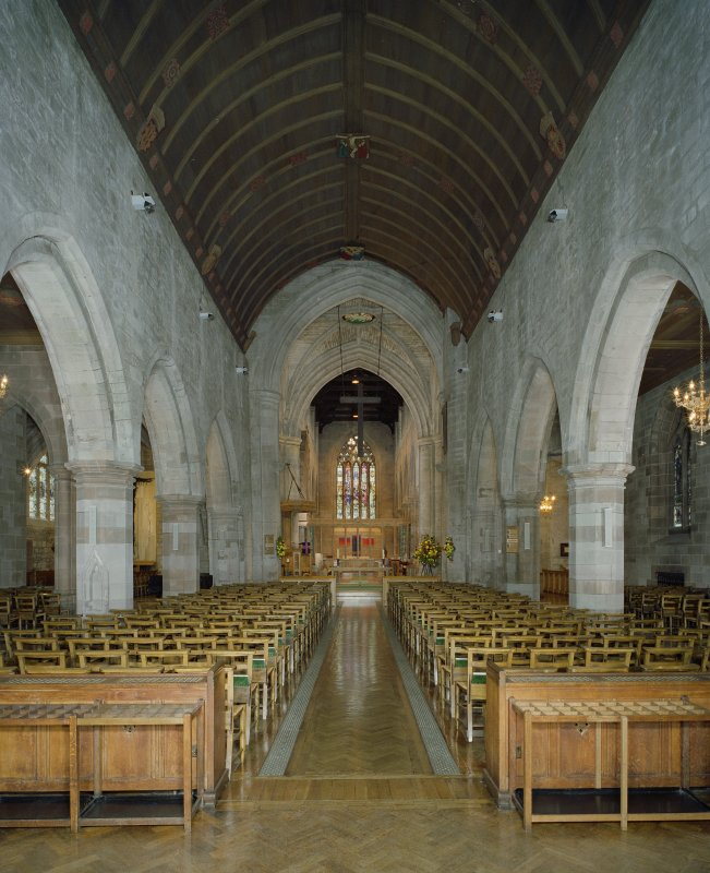 Interior. Nave. General view from W
