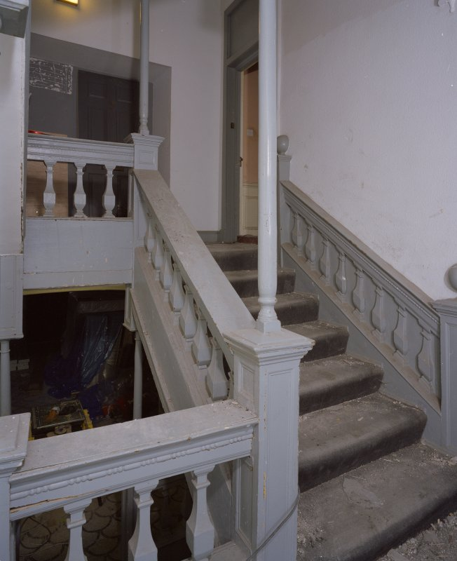 Interior. View of staircase