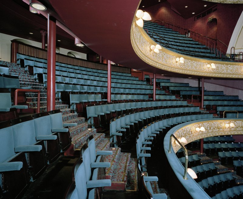 Interior. Auditorium. Grand Circle. View from WSW