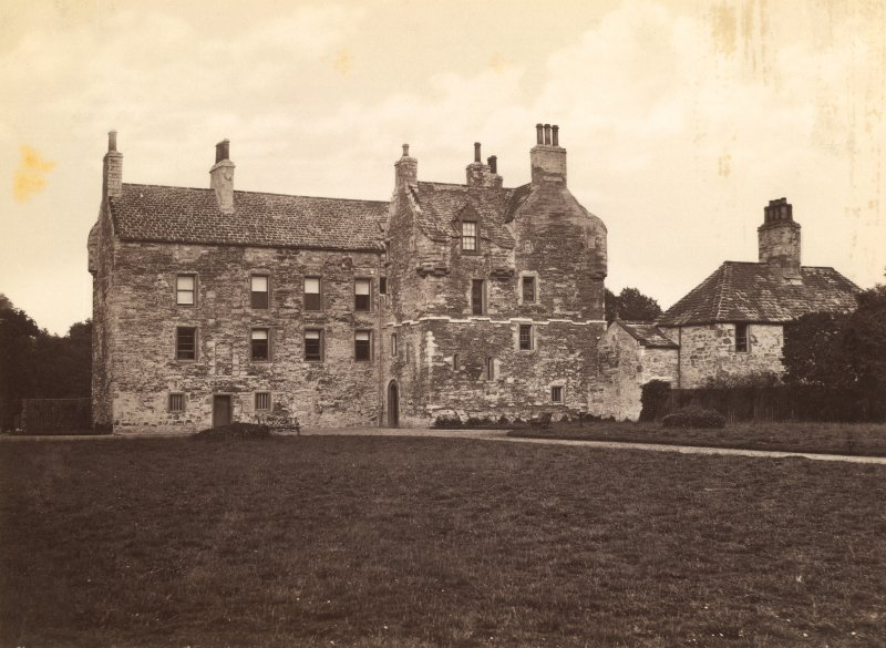 Historic photograph. General view taken before late nineteenth century alterations and additions.