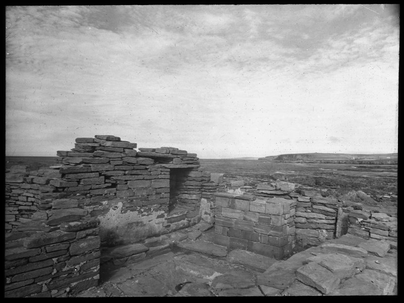 Excavation photo, interior of kirk.