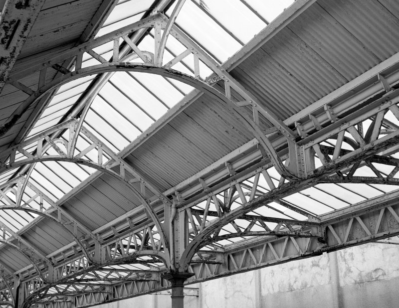 Detail of roof steelwork.