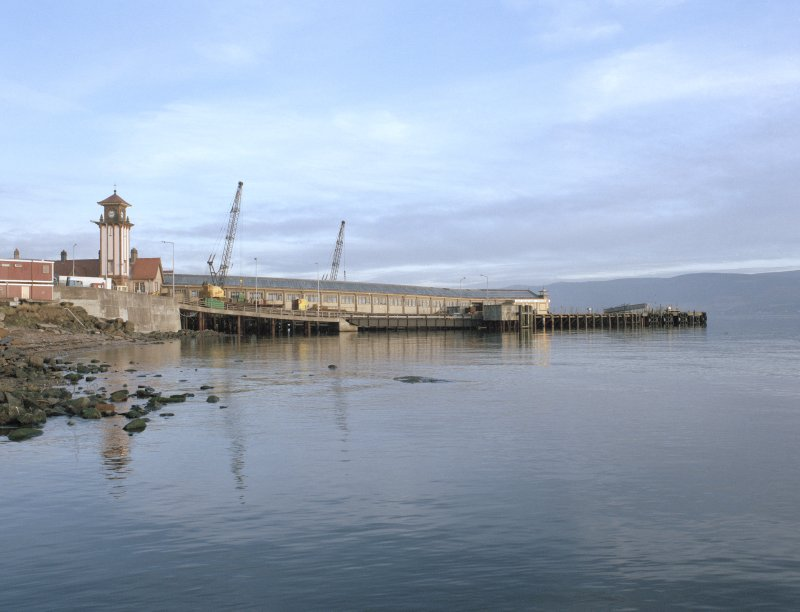View of pier from South.