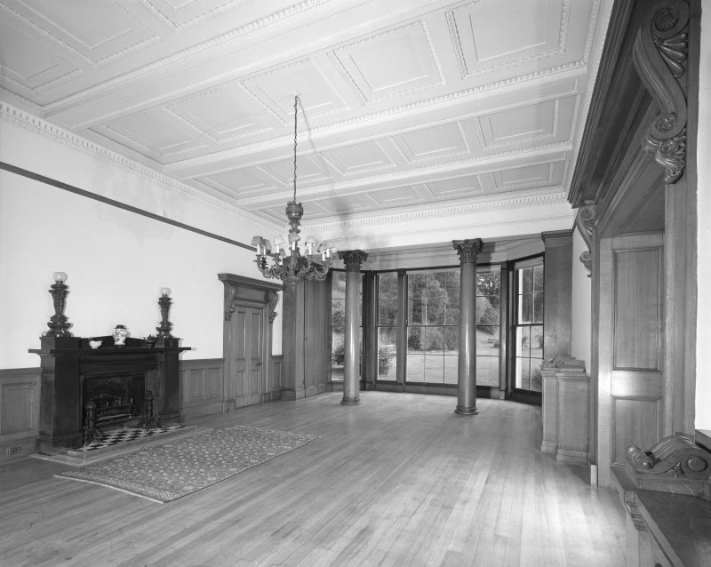 Ballindean House. Interior general view of East Drawing Room.