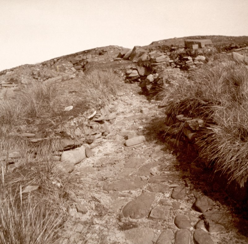 Photograph of part of a Broch