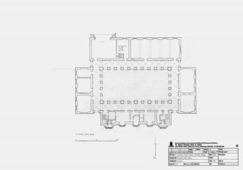 Madras College: Ground floor plan