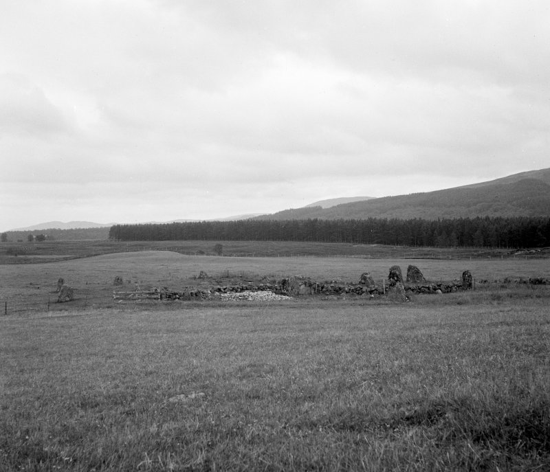General view of Tordarroch stone circle and ring cairn.