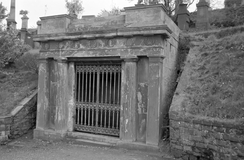 Mausoleum of Robert Black.