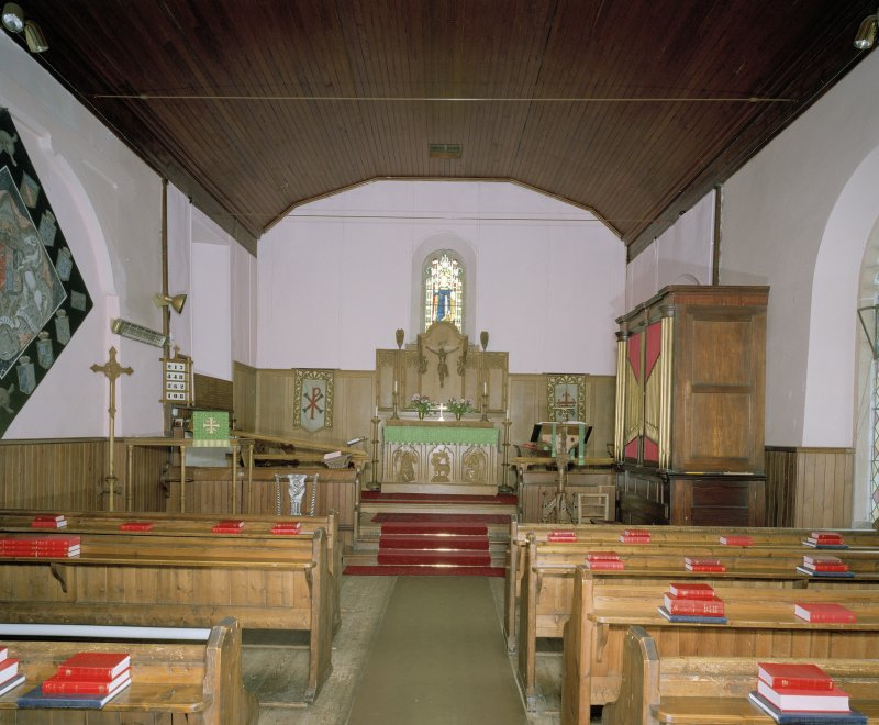 Interior. From S showing chancel