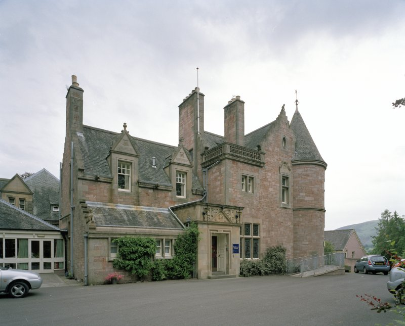 View of Archerfield House from W.