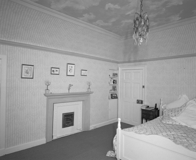 Interior. First Floor west wing S bedroom
