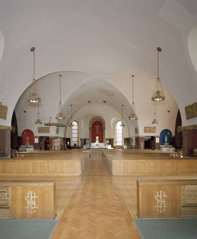Church. Interior. View from W