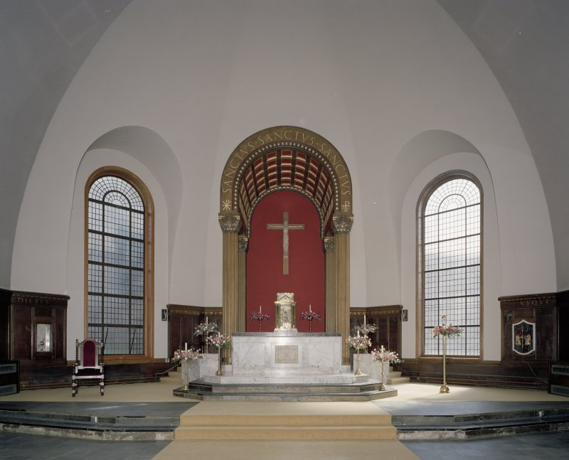Church. Interior. View of chancel