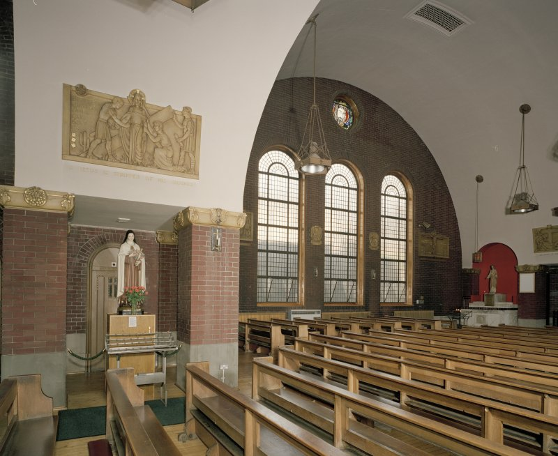 Church. Interior. View of N side
