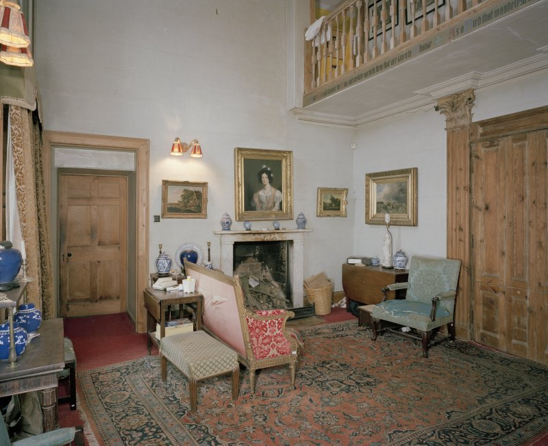 Interior. Ground floor. Hall.