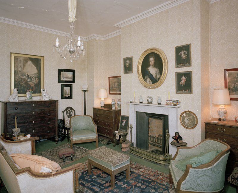 Interior. First floor. Sitting room.