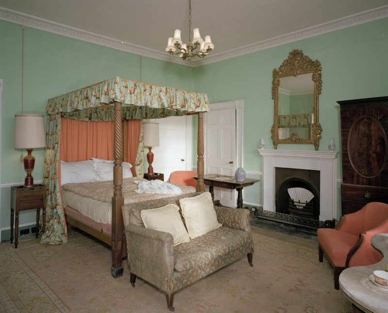 Interior.First floor. Four Poster SE bedroom.