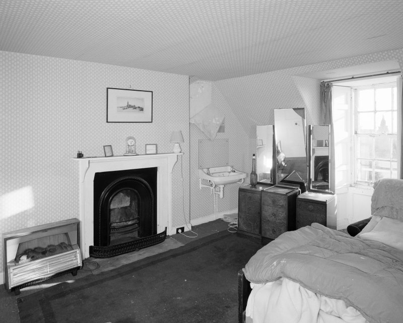 Interior. Attic. SW  Bedroom.