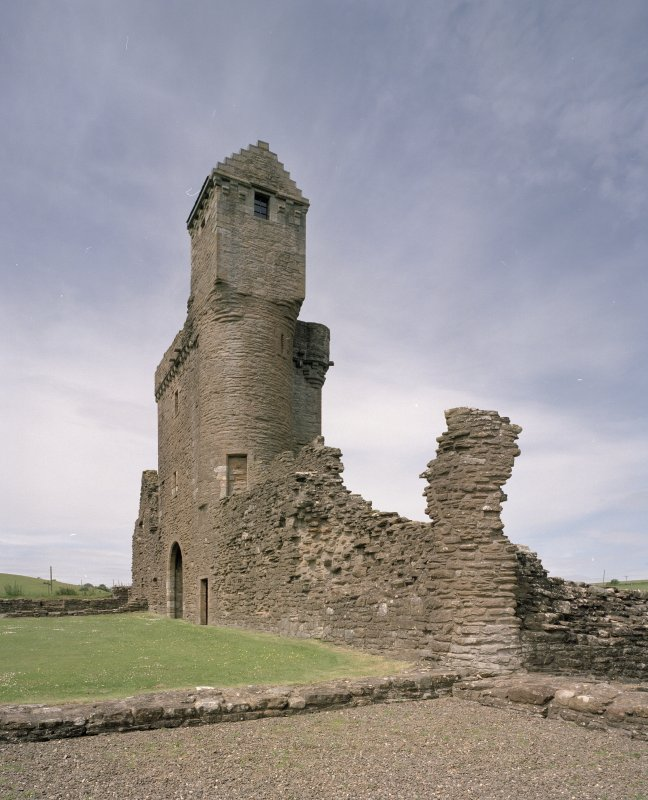 View of W gatetower from ESE