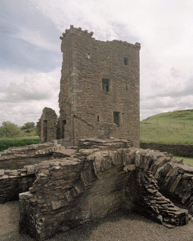 View of Abbot's Tower from WNW