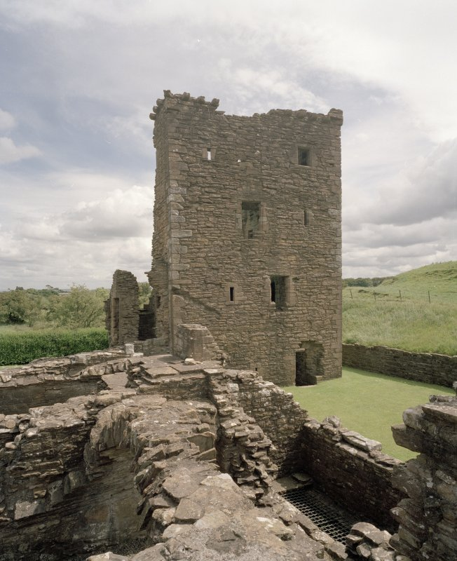 View of Abbot's Tower from W
