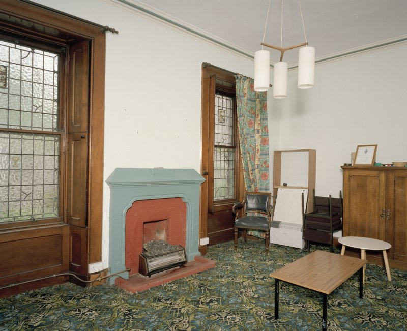 Interior. Ground floor view of original vestry