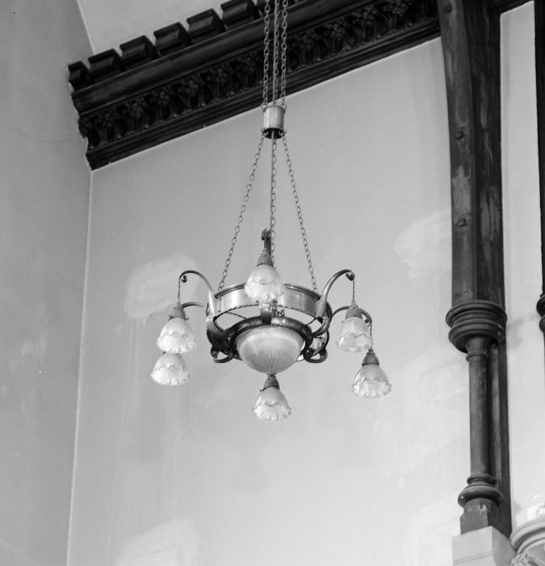 Interior.Detail of light fitting