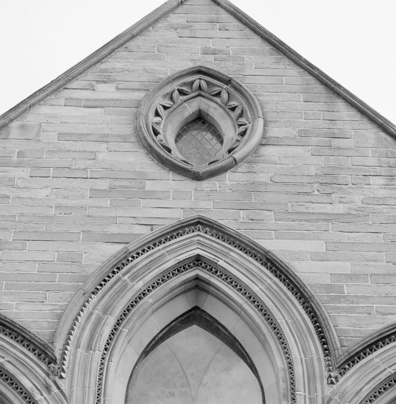 Detail of W gable