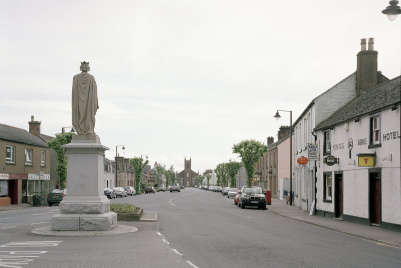 View showing setting in High Street from N