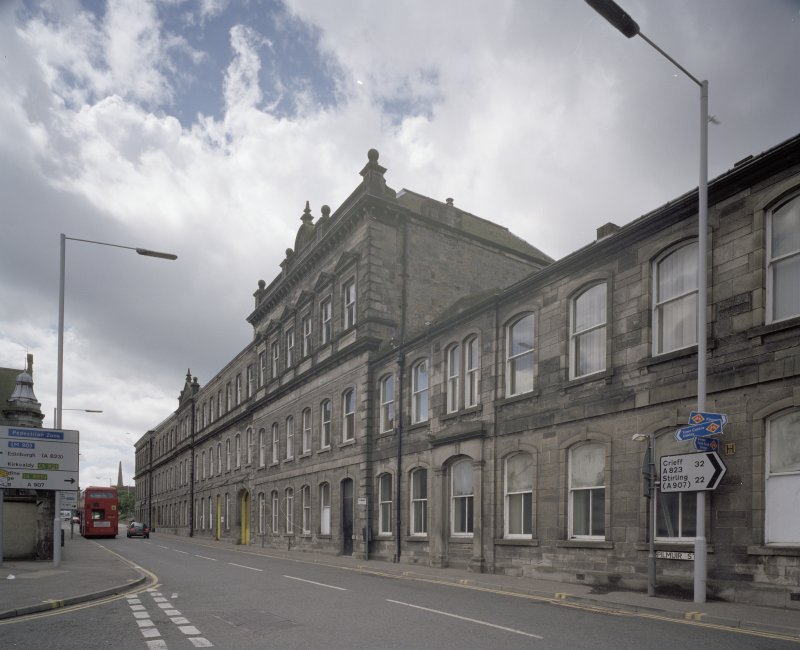 View of main Pilmuir St facade from N.