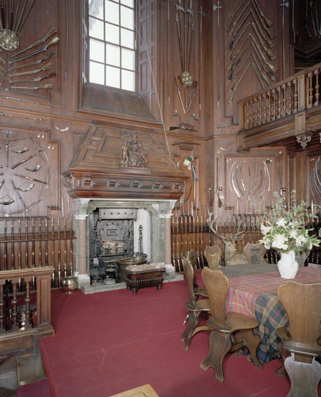 Interior. Ground floor. Entrance hall