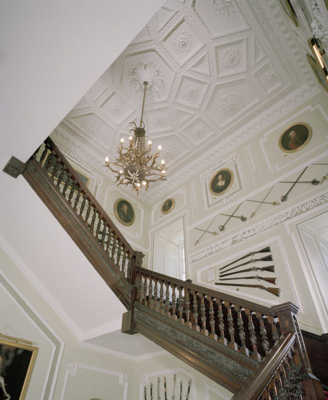 Interior. Main staircase