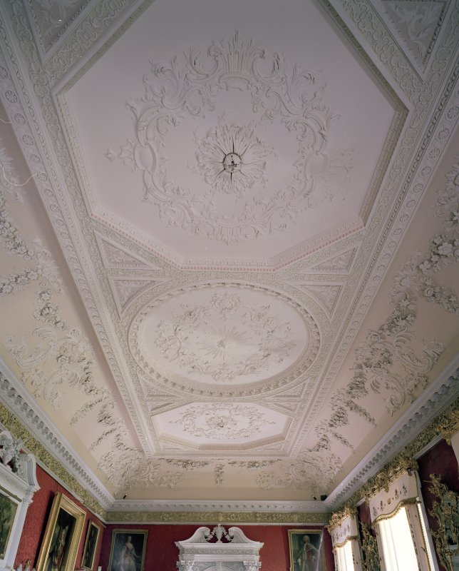 Interior. 2nd floor. Large Drawing Room. Ceiling (CN Only)