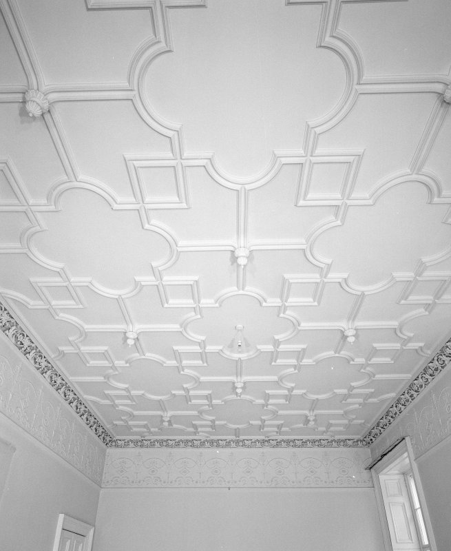 Interior. Detail of ceiling