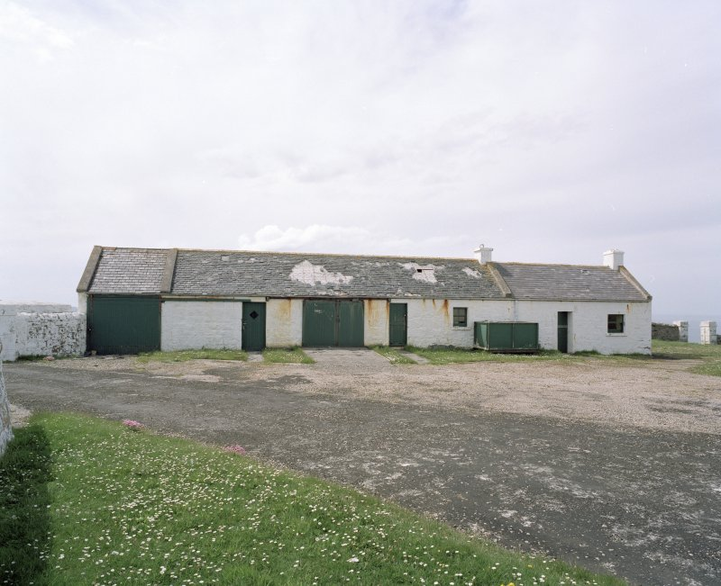 View of cottages and support buildings from NE.