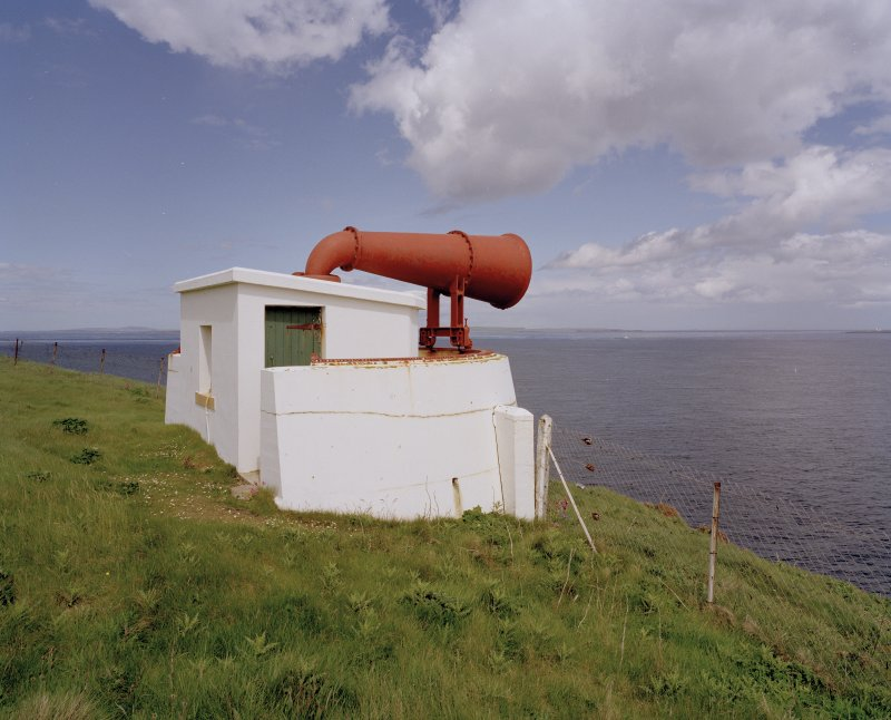 View of foghorn from S