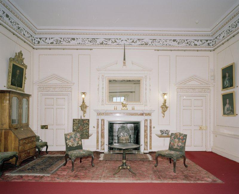 Interior. 1st floor. Small Drawing room. View from SW