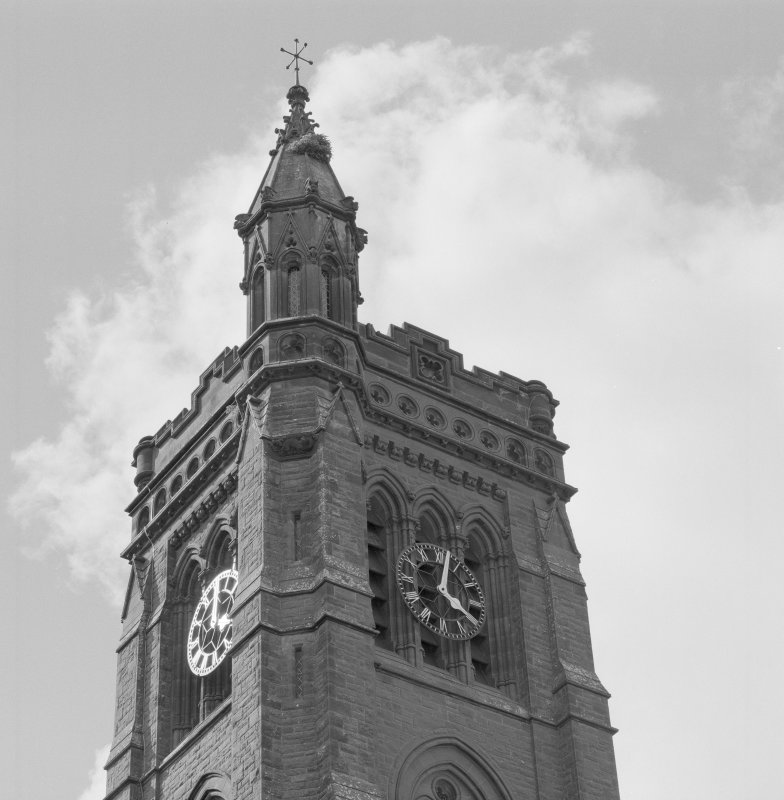 Detail of tower.