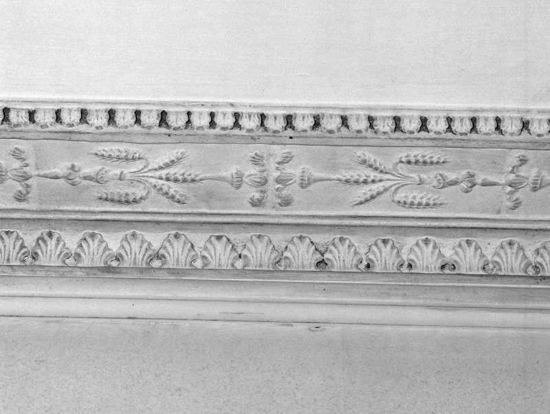 Interior, detail of first floor drawing room cornice