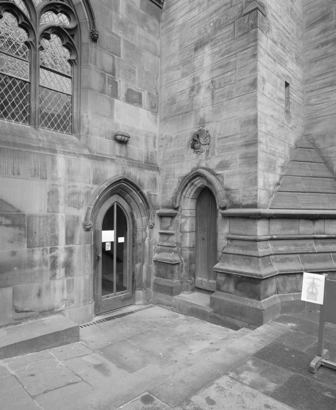 Detail of S Lower Aisle entrance