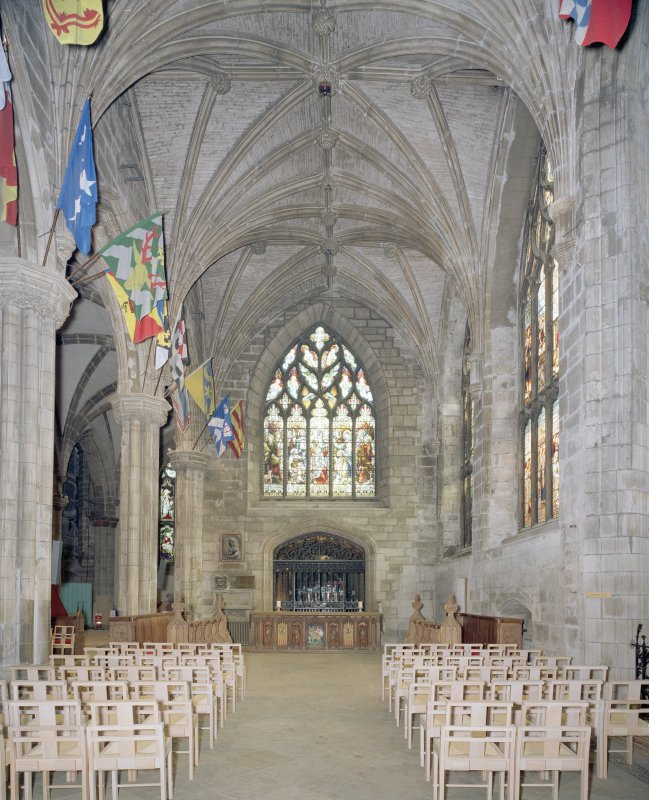 Interior, Preston Aisle from W