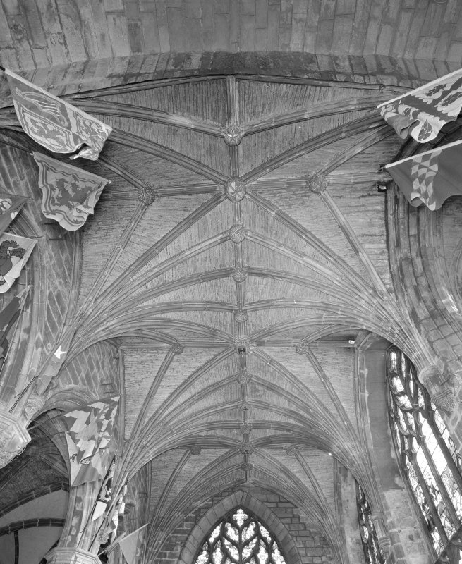 Interior, Preston Aisle, view of vault
