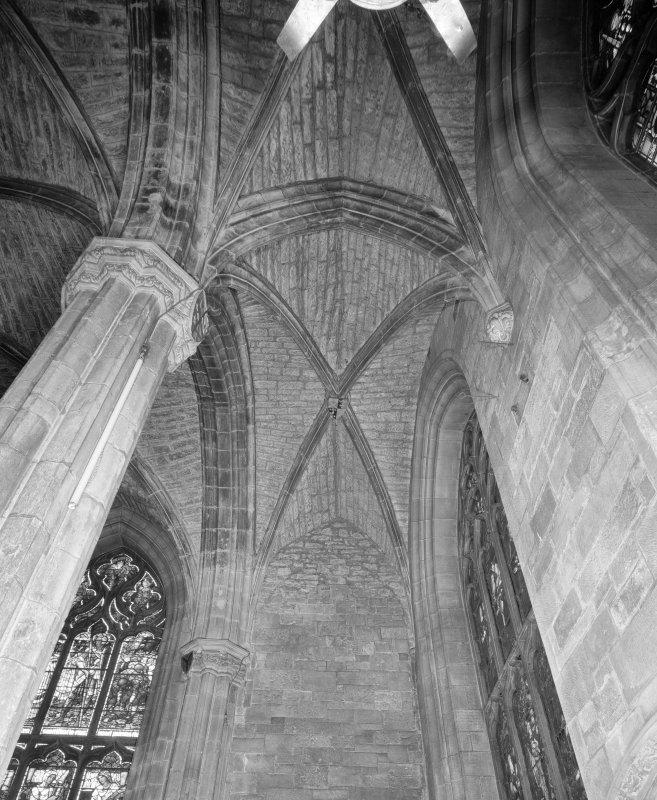 Interior, Albany Aisle, view of W vault