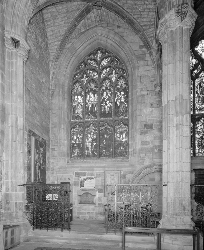 Interior, Albany Aisle, view from South